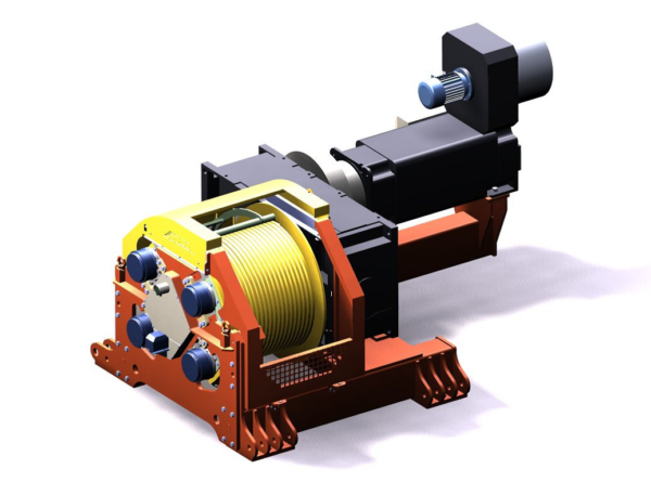 12t 2f6f685f6f92bbedac13df137a61bdb1 600x445 - Electrical winches - Traction power 12t